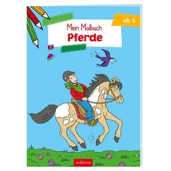 ARS Edition Mein Malbuch - Pferde 132355