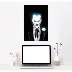 Posterlounge Wandbild, The Joker Face 60 cm x 90 cm