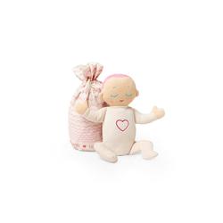 Lulla doll by RoRo Babypuppe Lulla doll Einschlafpuppe mit Herzschlag und Atemgeräusch in rosa