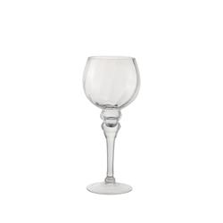 Dorre Lara Kerzenhalter Kelch Glas Durchmesser 13 cm Höhe 30 cm