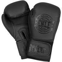 BENLEE Rocky Marciano Unisex – Erwachsene Black Label Nero Artificial Leather Boxing Gloves, 12