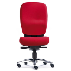 ZERO L15 - High End Bürostuhl Rot Stoff