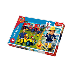 Trefl Puzzle Maxi Puzzle 24 Teile - Feuerwehrmann Sam, Puzzleteile
