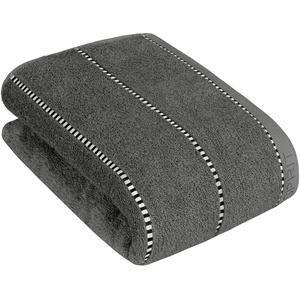 ESPRIT Handtuch Box Stripes | 740 Grey Steel - 50 x 100