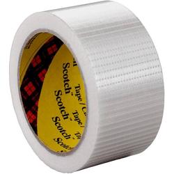 3M 8959 5856464 Filament-Klebeband Transparent (L x B) 50m x 50mm 50m