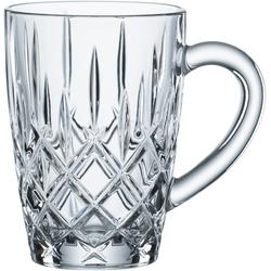 Nachtmann Teeglas Noblesse, Kristallglas, mit Schliff, 347 ml, 2-teilig weiß