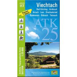Viechtach 1 : 25 000