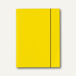Veloflex Sammelmappe VELOCOLOR®, A3, Karton, 350 g/qm, gelb, 6St., 4432310