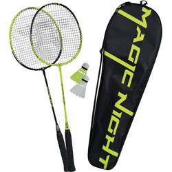 Talbot-Torro Badmintonschläger Badminton Set Magic Night LED