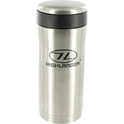 Highlander Sealed Mug Thermobecher Silber 330ml CP163-SR