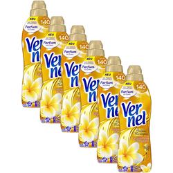Vernel Weichspüler 6er Pack Aroma Therapie Faszinierende 6x34 Waschladungen