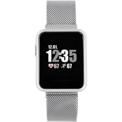 X-WATCH Keto Sun Reflect Smartwatch 40mm Silber
