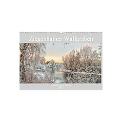 Ziegenhainer Wallgraben (Wandkalender 2021 DIN A3 quer)