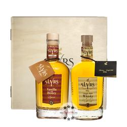 Slyrs Whisky Geschenkbox 2 x 0,35l
