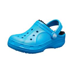 Crocs Clogs Hausschuhe Ralen Lined gefüttert für Jungen Clog blau 23/24