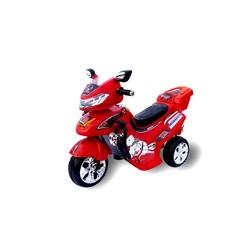 Actionbikes Motors Elektro-Kinderdreirad Kinder Elektroauto C031, Belastbarkeit 30 kg, Elektro Motorrad / Auto / Dreirad rot