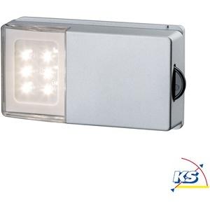 Paulmann LED Unterbauleuchte SNAP LED Schrankleuchte, mit Gleitrolle, 4x1,5AAA PAUL-70498