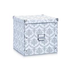 HTI-Living Aufbewahrungsbox Aufbewahrungsbox Pappe, weiß Vintage, Aufbewahrungsbox 33 cm x 32 cm