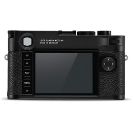 Leica M10-R Body schwarz verchromt