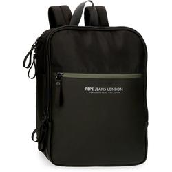 Pepe Jeans Laptoprucksack Sail, schwarz, mit USB-Anschluss