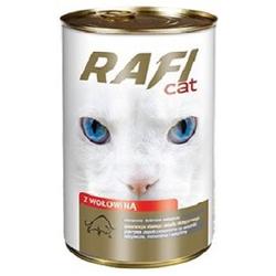 RAFI CAT Rind Nassfutter Hundefutter Dosen (60 x 0,415 kg)