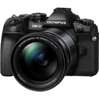 Olympus OM-D E-M1 Mark II schwarz + ED 12‑200  mm