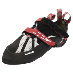 Lowa X-BOULDER Grau Rot Alpin Schuhe, Grösse: 42.5 (8.5 UK)