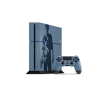 Sony PS4 1TB grau / blau + Uncharted 4: A Thief's End (Bundle) (EU Import)