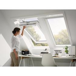 VELUX Dachfenster GGU FK04, Schwingfenster, BxH: 66x98 cm grau