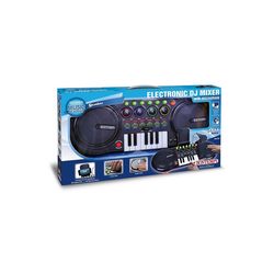 Bontempi Spielzeug-Musikinstrument DJ Mixer mit Mikrofon