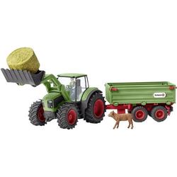 Schleich Farm World Traktor mit Anhänger 42379