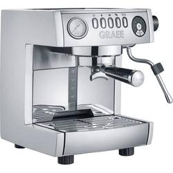 Graef ES850EU Espressomaschine mit Siebträger Aluminium 1470W