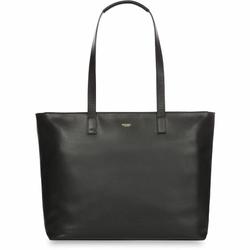 Knomo Mayfair Luxe Shopper Tasche Leder 37 cm black