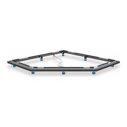 Kaldewei Duschwannen-Fuß-Rahmen FR 5300 (Fünfeck)