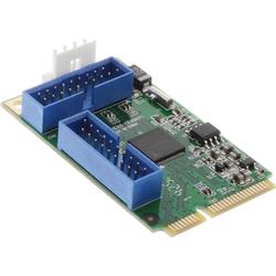 InLine® Mini-PCIe Karte, 4x USB 3.0