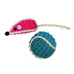 TRIXIE Set Sisal-Spielzeug 5 cm