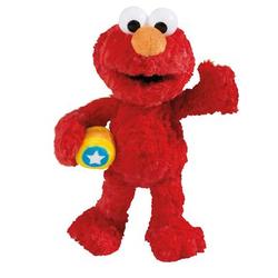NICI Sesamstraße Kuscheltier Monster Elmo 25 cm Schlenker 41957