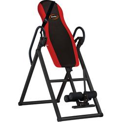 body coach Rückentrainer Inversionstisch mit Sicherheitsgurt schwarz Fitness Ausrüstung Sportarten Trainingsbank