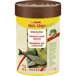 Sera Fischfutter Wels-Chips 100 ml