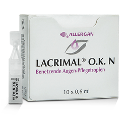 LACRIMAL O.K. N Augentropfen 10X0.6 ml
