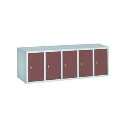 CP Aufsatzschrank Aufsatzschrank, Tür einwandig glatt rot 148 cm x 50 cm x 50 cm