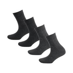 s.Oliver Socken 4 Paar Socken grau 35-38
