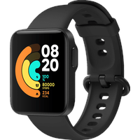 Xiaomi Mi Watch Lite Smartwatch, 120 mm + 90 mm, Black