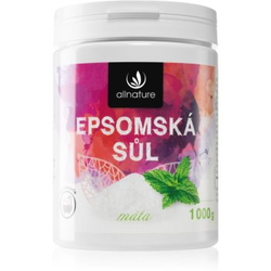 Allnature Epsomská sůl Mint Badesalz 1000 g