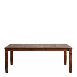 Holztisch in Braun rustikalen Landhaus Design