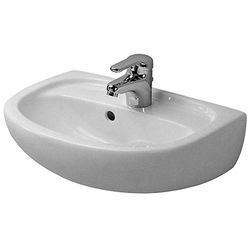 Duravit Duraplus Compact Handwaschbecken 079745411 45 x 31 cm, bahamabeige, WonderGliss
