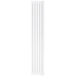 HOMESTAR Dekorpaneele HP 15, 150 x 20 mm, Länge 2 m weiß