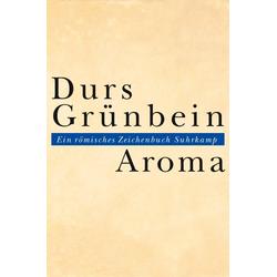 Aroma als Buch von Durs Grünbein