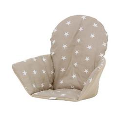 Polini Kids Sitzkissen für Ikea Hochstuhl Antilop Sterne macchiato