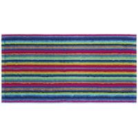 CAWÖ Life Style Streifen 7048 Handtuch 2 x 50 x 100 cm multicolor